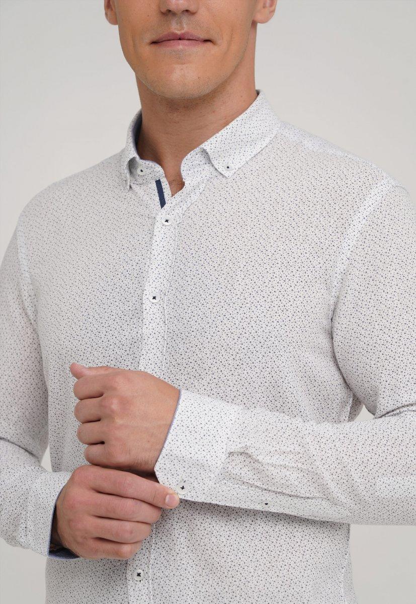 Рубашка Trend Collection 20070-06 Белый+галочка - Фото 2
