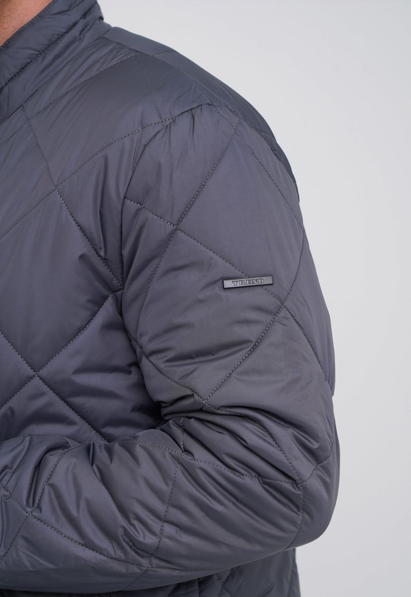 Куртка Trend Collection 9-60 серый (GREY) - Фото 5