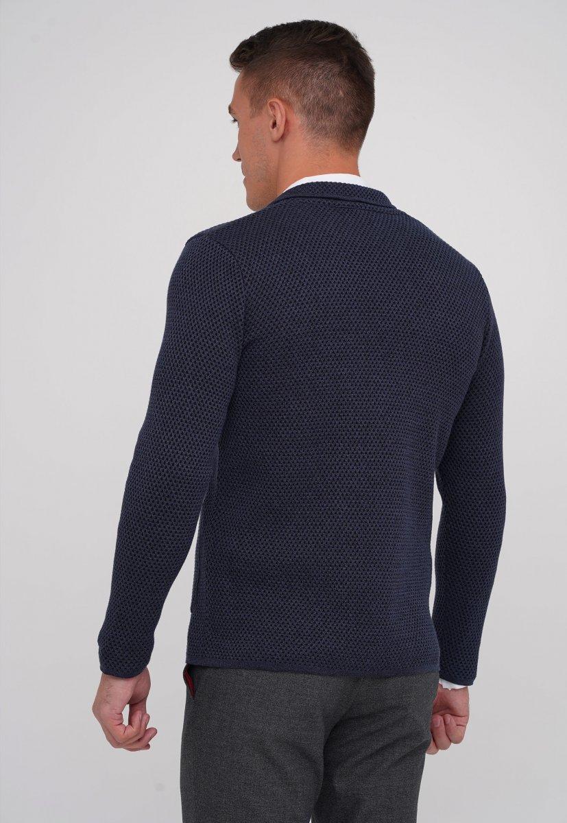 Кардиган Trend Collection 0301 Темно-синий (V03) - Фото 2