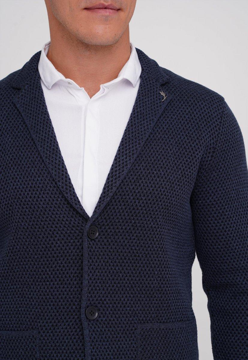 Кардиган Trend Collection 0301 Темно-синий (V03) - Фото 1