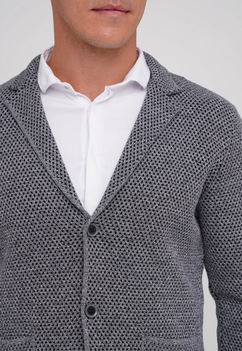 Кардиган Trend Collection 0301 Серый (V01) - Фото 1