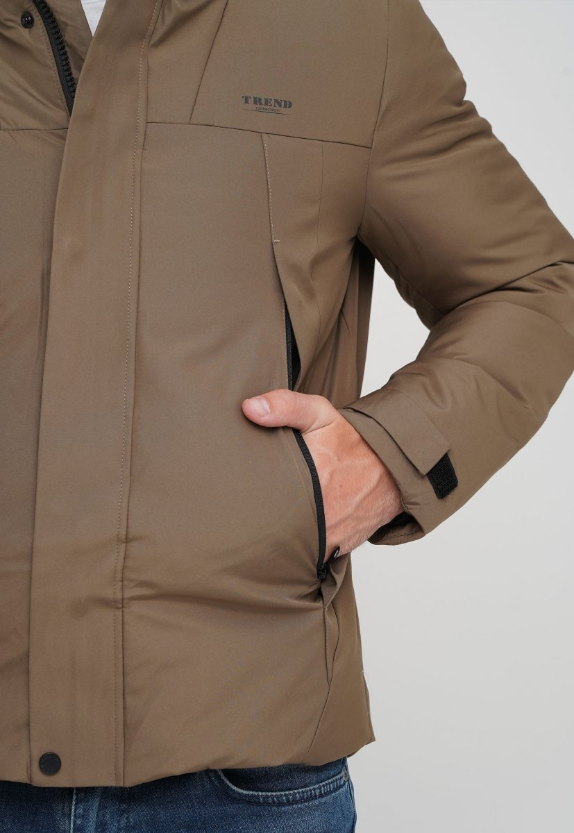 Куртка Trend Collection 88-161 светло-кофейный (LIGHT COFFEE) - Фото 3