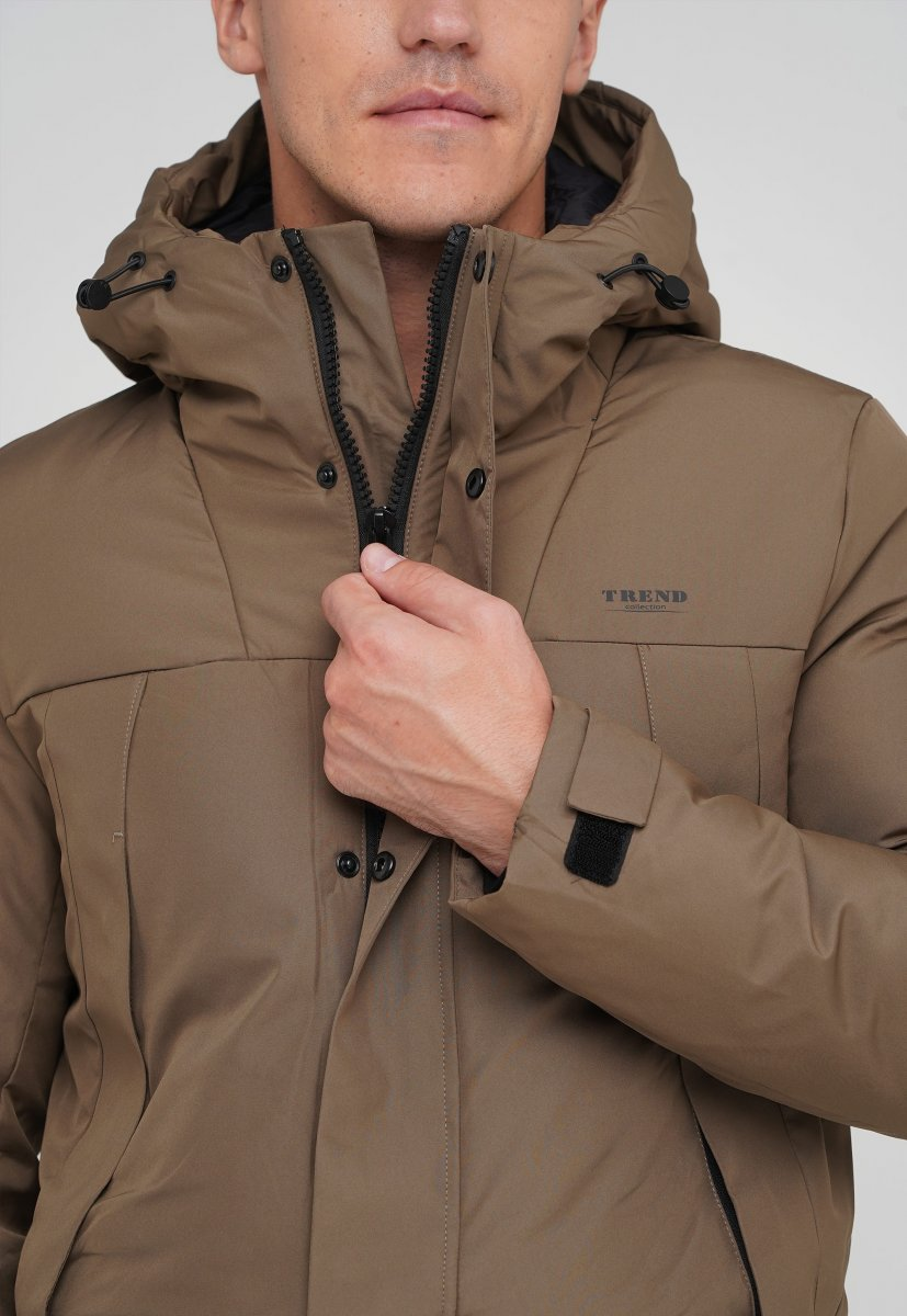 Куртка Trend Collection 88-161 светло-кофейный (LIGHT COFFEE) - Фото 4