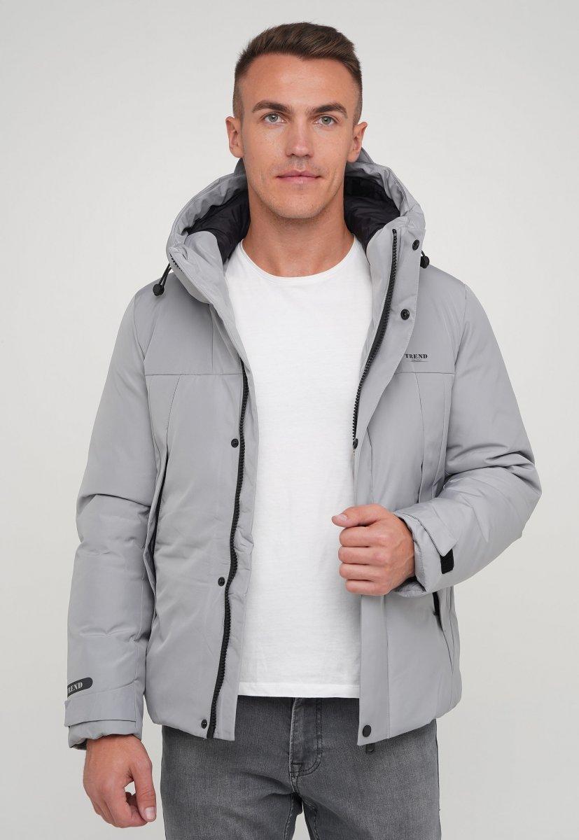 Куртка z Trend Collection 88-161 Светло-серый (LIGHT GTREY) - Фото 3