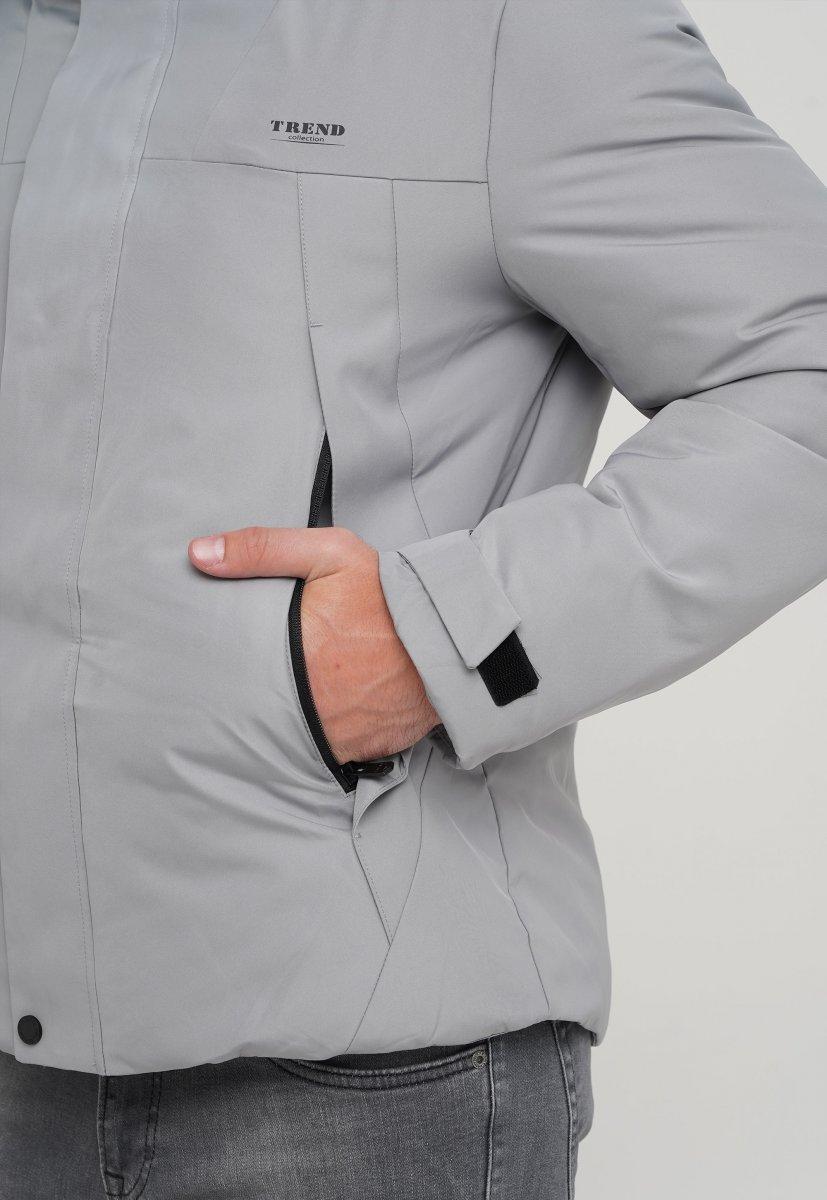 Куртка z Trend Collection 88-161 Светло-серый (LIGHT GTREY) - Фото 6