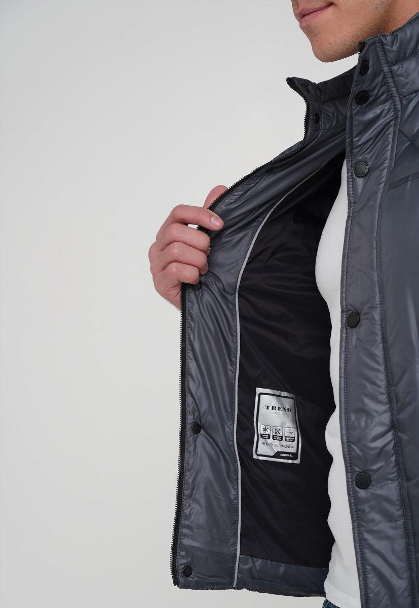 Куртка Trend Collection 20-125 Темно-серый (DARK GREY) - Фото 3