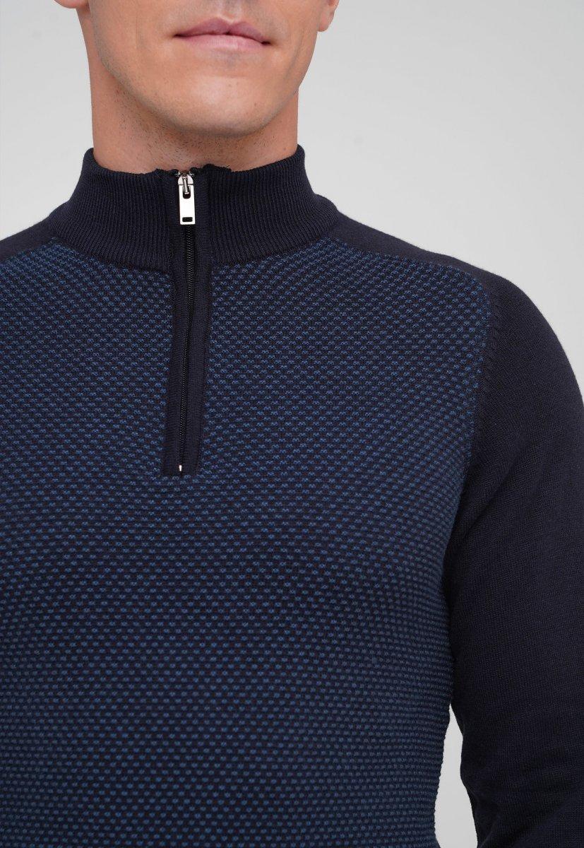 Гольф Trend Collection 201414 Темно-синий - Фото 1